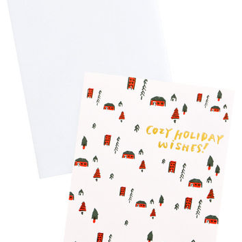 Cozy Holiday Wishes Card Set