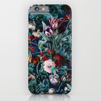 NIGHT FOREST X iPhone & iPod Case by Burcu Korkmazyurek