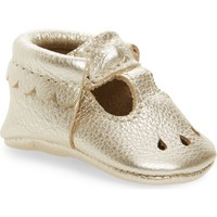 Freshly Picked Perforated Mary Jane Moccasin (Baby & Walker) | Nordstrom