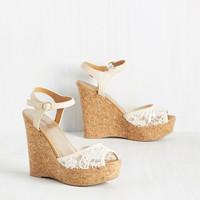 Mimosa's the Word Wedge | Mod Retro Vintage Heels | ModCloth.com