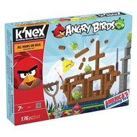 Angry Birds All Hams On Deck Set by K'nex (Yellow/Red)