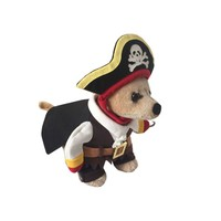Funny Halloween costumes Dog skull Pattern Cat Cosplay Costumes Clothing Pirates Sweater Coat clothes for cats BS