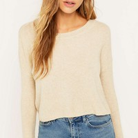 Urban Outfitters Perfect Pullover Oat Jumper - Urban Outfitters