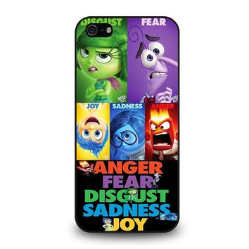 INSIDE OUT ALL CHARACTER Disney iPhone 5 / 5S / SE Case Cover