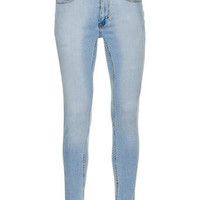 Bleach Wash Spray On Skinny Jeans - Spray On Skinny Jeans - Clothing