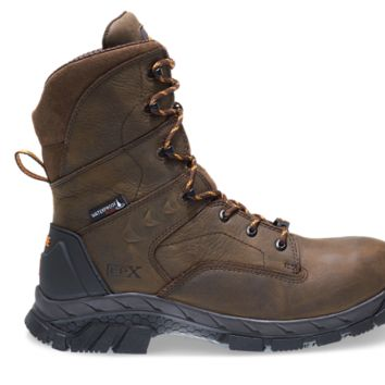 """Wolverine GLACIER ICE WATERPROOF INSULATED CARBONMAX 8"""" Safety Toe Boots"""