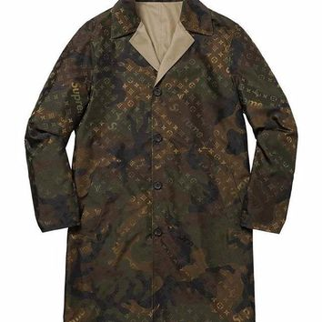 Supreme x Louis Vuitton Camo Chore Coat - Brown Camo