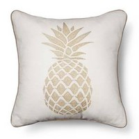 Gold Pineapple Throw Pillow - Multi-Colored – Threshold™