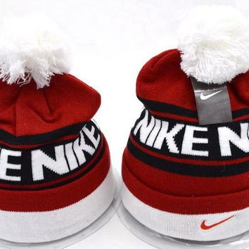One-nice™ Perfect Nike Women Men Embroidery Beanies Winter Warm Knit Hat Cap