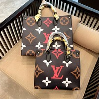 Free Shipping-LV Women's Wild Shopping Bag Tote Shoulder Bag