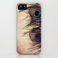 Peacock Feathers iPhone Case by KunstFabrik_StaticMovement Manu Jobst | Society6