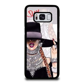BEYONCE I SLAY Samsung Galaxy S3 S4 S5 S6 S7 Edge S8 Plus, Note 3 4 5 8 Case Cover