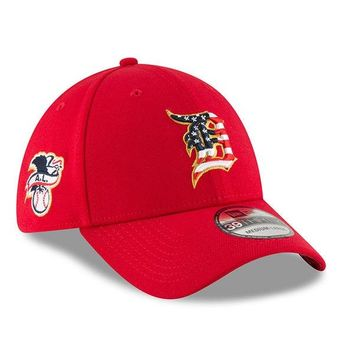MLB Detroit Tigers 39Thirty Stars and Stripes 4th of July Flex Hat