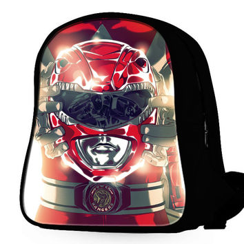 Power Rangers Red Tyranno Backpack