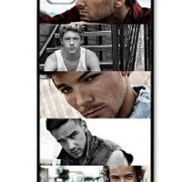 New 1D CTSLR Music One Direction Singer Protective Hard Slim Fit Snap on Case Cover for iPhone 5 iPhone 5G Cellphone Case J