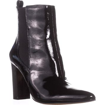 Vince Camuto Britsy Ankle Booties, Carbone, 10 US