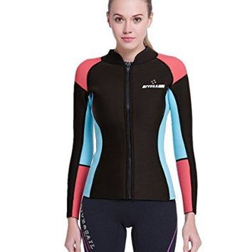 DIVE & SAIL Women's Wetsuits Long Sleeve  Jacket