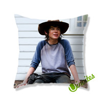 Carl Grimes Square Pillow Cover