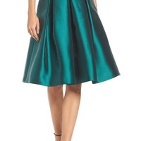 Eliza J Release Pleat Full Skirt | Nordstrom
