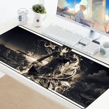 Gaming Mousepad Locking Edge XL Large Mouse Pad Gamer Game Mouse pad Anime DIY Computer Desk Mousepad Mat For Dota2 LOL 70*30CM