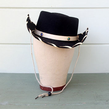 Vintage Child's Cowboy Hat by AtHomeInNapa on Etsy