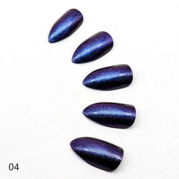 Galaxy Chrome Cat Claw Manicure Nail Kit - Cosmic Magma