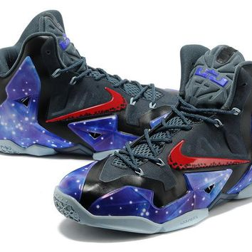 "Nike Lebron 11    ""Milky Way Star""  Basketball Shoes"