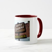 This is Campbell CA, Towne Square Signage Mug