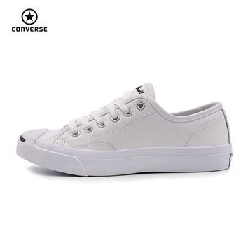 Converse Original new Smile style JACK PURCELL shoes man and women Unisex PU Leather Skateboarding Shoes 101509