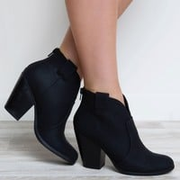 Courtney Booties - Black