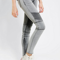 Urban Outfitters - Dittos Courtney Low-Rise Skinny Moto Jean