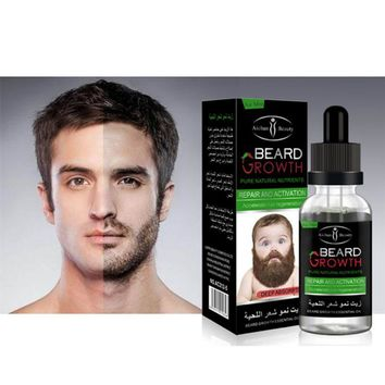 US Shipping 100% Natural Organic Beard Oil Beard Wax balm Hair Loss Products Leave-In Conditioner for Groomed Beard Growth