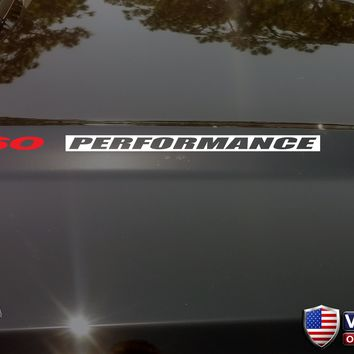 360 PERFORMANCE Hood Vinyl Decals Sticker for: AMC Jeep Dodge INV