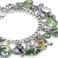 The Enchanted Frog Charm Bracelet