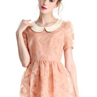 ROMWE | Lace Embroidered Sweet Dress, The Latest Street Fashion