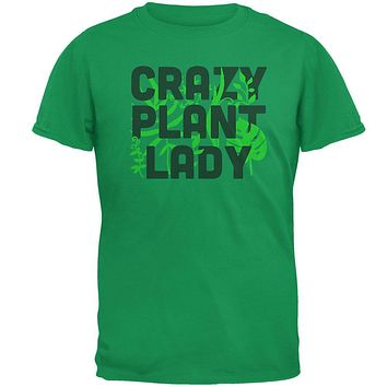 Gardening Crazy Plant Lady Mens T Shirt