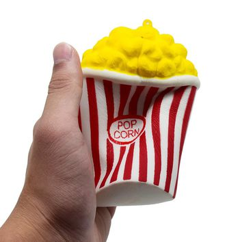 Novelty Toys Squeeze Popcorn Cup Slow Rising Squishy
