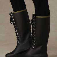 Noir Lace Up Weather Boots at Free People Clothing Boutique