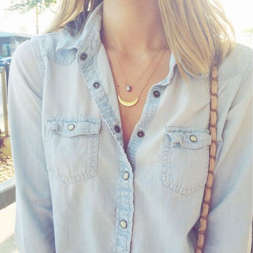 The Tanner Denim Shirt