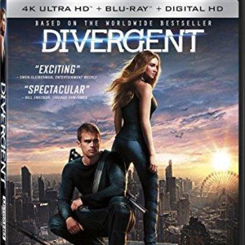 Shailene Woodley & Theo James & Neil Burger-Divergent 4K Ultra HD