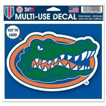 """Licensed Florida Gators Official NCAA 4.5""""x5.75"""" MultiUse Car Decal by Wincraft 352521 KO_19_1"""