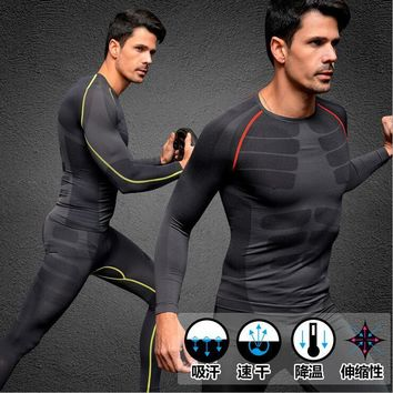QUALITY Men sporting winter thermal underwear , warm elastic Quick Dry Hot-Dry M L XL NATUREHIKE thermo Long Johns