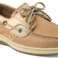Sperry Top-Sider Bluefish Cork 2-Eye Boat Shoe Sand, Size 5M  Women's Shoes