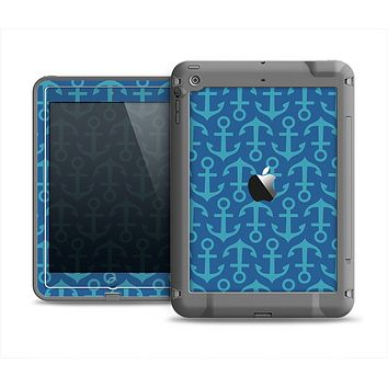 The Blue Anchor Collage V2 Apple iPad Air LifeProof Fre Case Skin Set