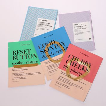 Sheet Mask Bundle: Power Combo Pack