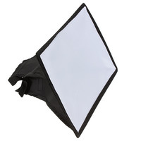 30x20cm Photography Flash Softbox Diffuser For Canon EOS 600EX 580EX/430EX/550EX/540EZ/420EX/380EX For Nikon SB900 SpeedLight