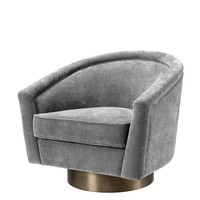 Gray Swivel Chair | Eichholtz Catene