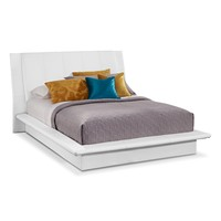Dimora White Bedroom Queen Bed - Value City Furniture