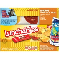 Lunchables Nachos Cheese Dip & Salsa Lunch Combination, 4.7 oz - Walmart.com