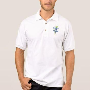 Israel Pride Jewish Roots Of Pride Proud Polo Shirt